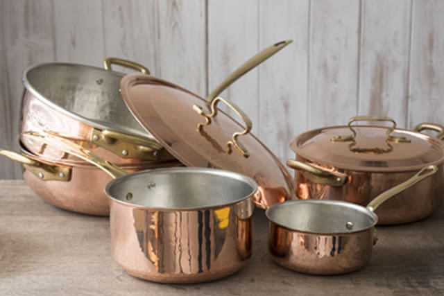 how to clean copper How to clean copper clean copper pots and pans